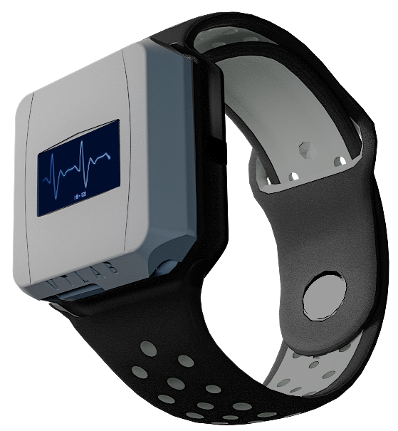Smartwatch VTLab from the side