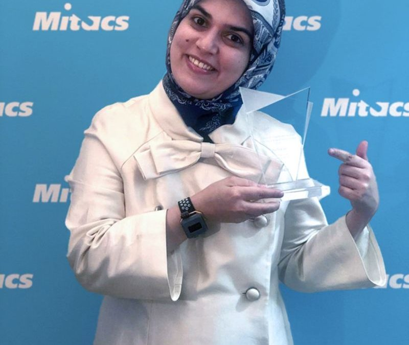 VitalTracer's CEO, Azadeh Dastmalchi, Wins Two Mitacs Awards